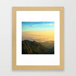 Permian Sunrise Framed Art Print