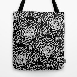 A Crowd of Mums (black | white) Tote Bag