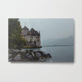 swiss chateau pt. 2 Metal Print