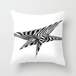 'Untitled #01' Throw Pillow