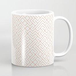 10 Print: Thin Red Coffee Mug