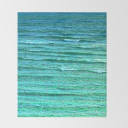 Sea of Indifference Throw Blanket