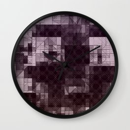 Pyramid Cities Wall Clock
