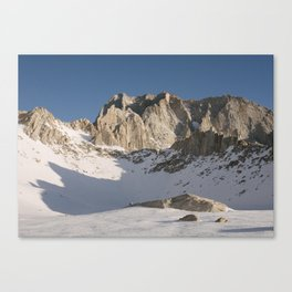 Iceberg Lake Canvas Print