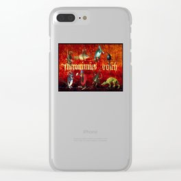 Hieronymus Bosch Collage Clear iPhone Case
