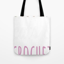 Crochet t-shirt Tote Bag