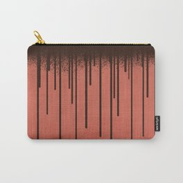 DROPS / coral Carry-All Pouch