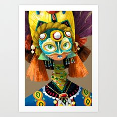Part Of A Tribe Art Print