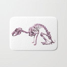Purple Animal Skeleton Bath Mat
