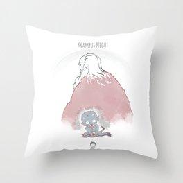 Krampus Night Throw Pillow