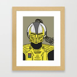 A Sentinel. An Assassin. Framed Art Print