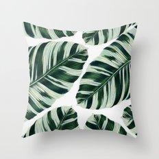 Tropical Foliage #society6 #buyart #decor Throw Pillow