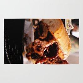 BBQ Beef Brisket Sandwich Rug