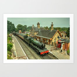 Bradley Manor at Arley Art Print