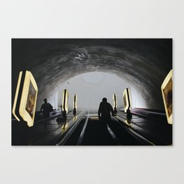 Underground in Kiev, Ukraine Canvas Print