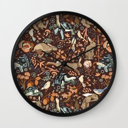the tortoise and the hare Wall Clock