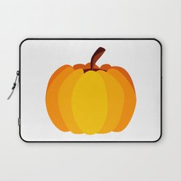 Orange Pumpkin Laptop Sleeve
