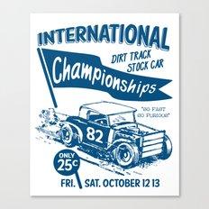 Internationa race Canvas Print