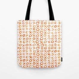 Xoxo valentine's day - orange Tote Bag