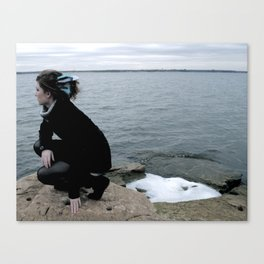 feathering Canvas Print