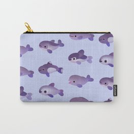 Porpoise Day Carry-All Pouch