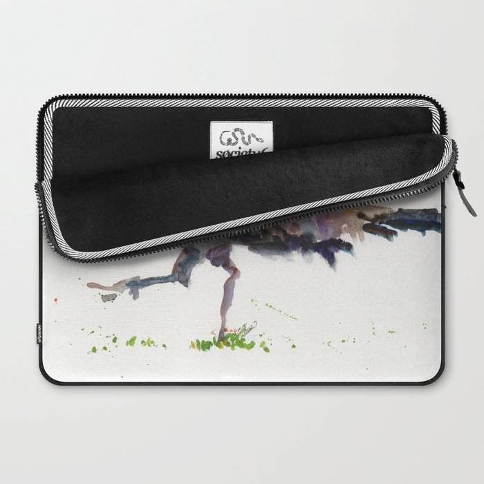 Peahen Laptop Sleeve