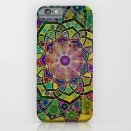 Unfolding Magic iPhone Case
