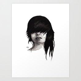 Bangz Two Art Print