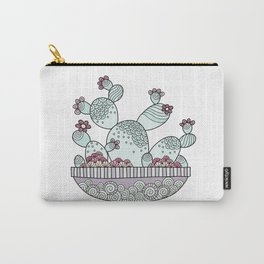 Enjoy the Little Things Pink Carry-All Pouch