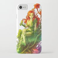 poison ivy iPhone & iPod Cases featuring Poison Ivy by aken