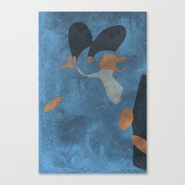 Swampert Canvas Print