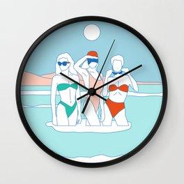 Luna Nueva Wall Clock