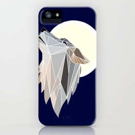 Howling at the Moon iPhone Case