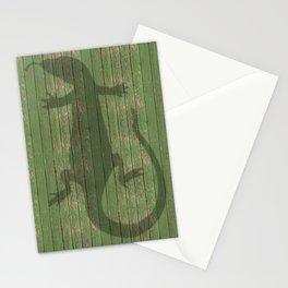 salamander chameleon reptile Stationery Cards