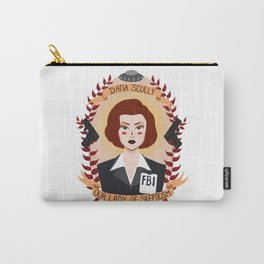 Dana Scully Carry-All Pouch