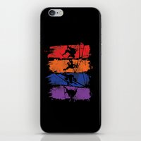 teenage mutant ninja turtles iPhone & iPod Skins featuring TEENAGE MUTANT NINJA TURTLES by Beka