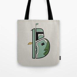 B is for Boba Fett Tote Bag