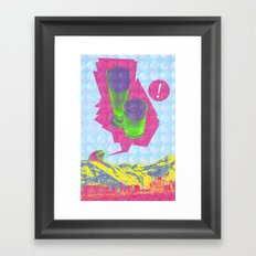 Spring Break: A Visual Journal Framed Art Print