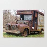 truck Canvas Prints featuring Truck by Hayley Q. Drewyor
