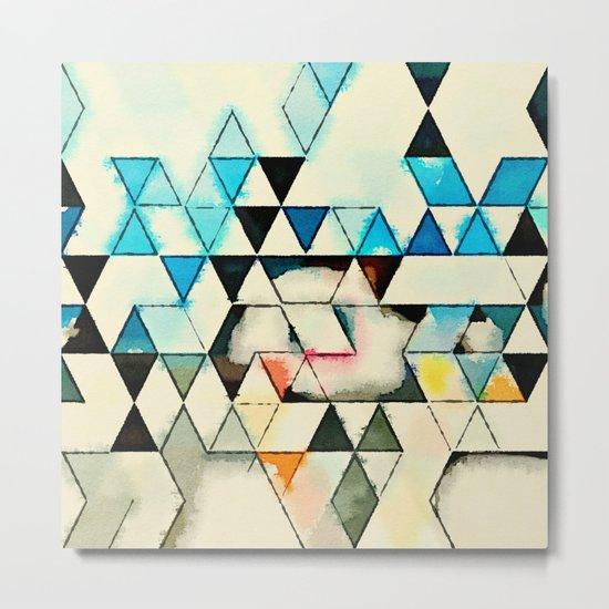 Geometric W1 Metal Print