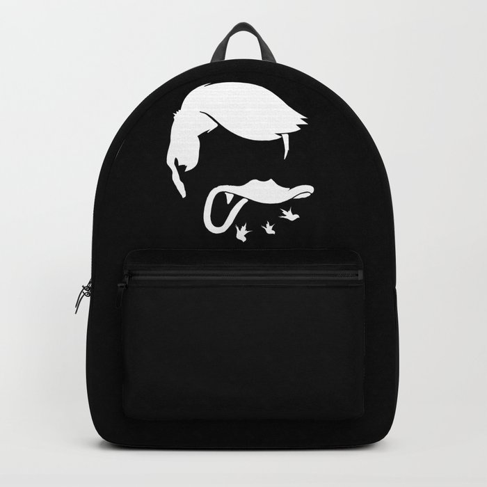 a241ef9316 Donald Trump Backpack by fosterchild