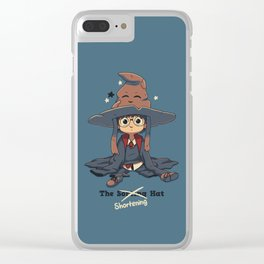 The Shortening Hat Clear iPhone Case