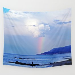 Love under the Rainbow Wall Tapestry
