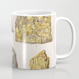 Vintage Gold Minerals Coffee Mug