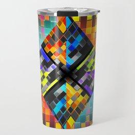 qr code matrix Travel Mug