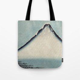 Hokusai, the blue fuji- hokusai,manga,japan,fuji, blue fuji,Shinto Tote Bag