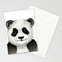 Watercolor Panda Stationery Cards