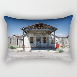 Somewhere on the Old Pecos Highway #5 Rectangular Pillow