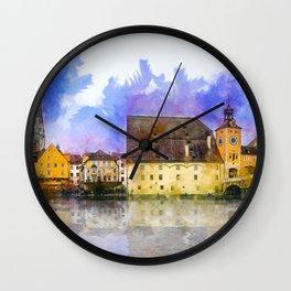 Regensburg Wall Clock