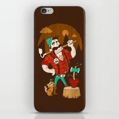 Green Thumberjack iPhone & iPod Skin